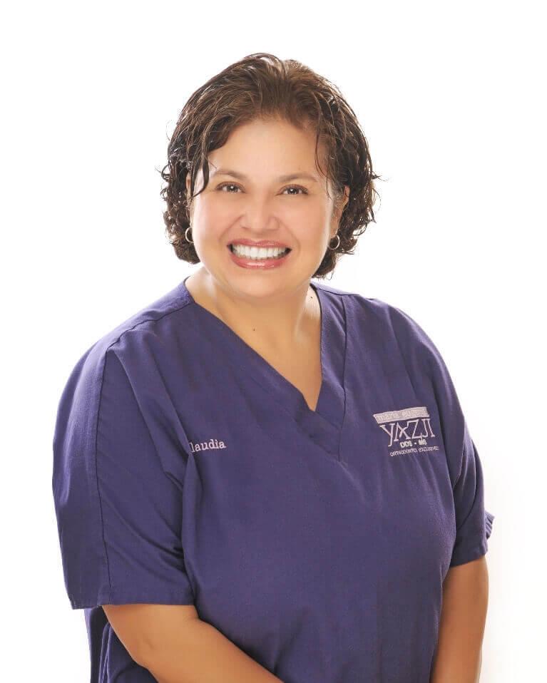 Claudia Ahumada Head Orthodontics-Assistant
